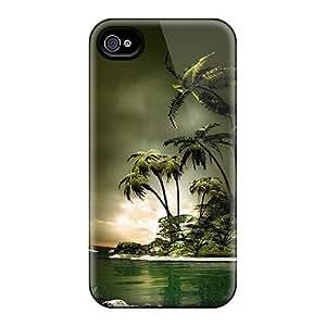 Premium Tpu Nature Cover Skin For Iphone 4/4s