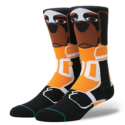 New Stance Smokey (Black) Socks-Large