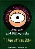 Sexual Harassment, V. P. Argos, Tatiana Shohov, 156072711X