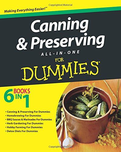 Canning and Preserving All-in-One For Dummies by Consumer Dummies