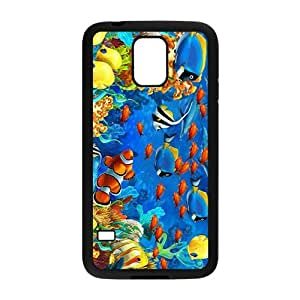 Colorful Sea World Hight Quality Plastic Case for Samsung Galaxy S5