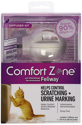 Comfort Zone with Feliway 6-Pack Cats Diffusers