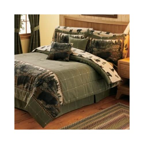 Image of All Seasons Bedding The Bears - King Comforter Set