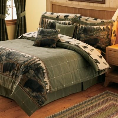 Blue Ridge Home The Bears Comforter Set Size: Full