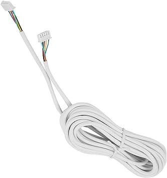 4 n/úcleos 30m 0.3 mm/² Redondo Flexible Cable de Cobre Video Intercomunicador para videoportero. Cable de Cobre para videoportero