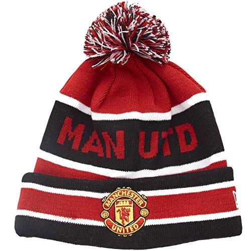 - New Era Manchester United Cuff Bobble Sports Knit Beanie, OS