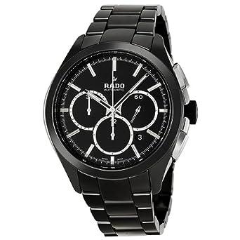 rado hyperchrome r32275152 45mm automatic ceramic case black rado hyperchrome r32275152 45mm automatic ceramic case black ceramic synthetic sapphire men s watch