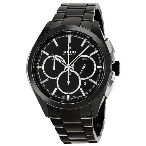 Rado Hyperchrome XXL Black Dial Ceramic Chrono Automatic Men's Watch R32275152
