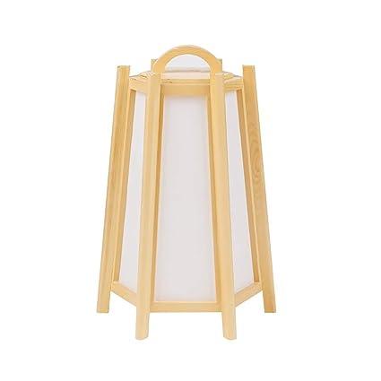 WPLDD Lámpara de pie Lámpara de Mesa Japonesa Sencilla ...