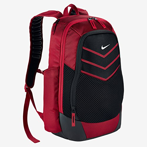 Nike Vapor Power Backpack Backpack University Red/Black/Metallic Silver One Size by Nike