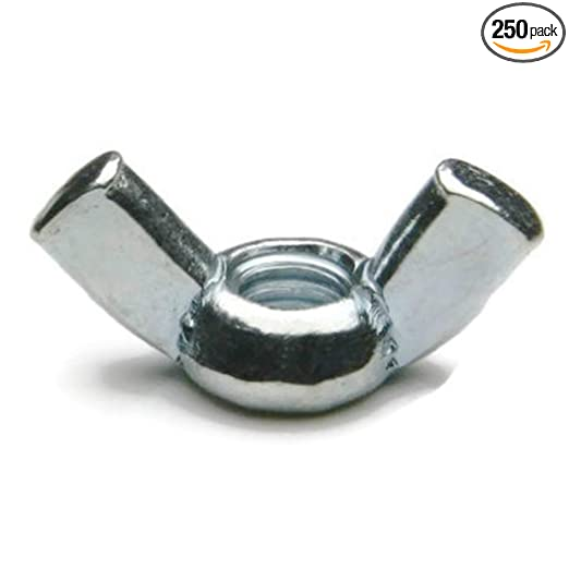 Wing Nuts 8-18 Stainless Steel 1//4-20 Qty. 25