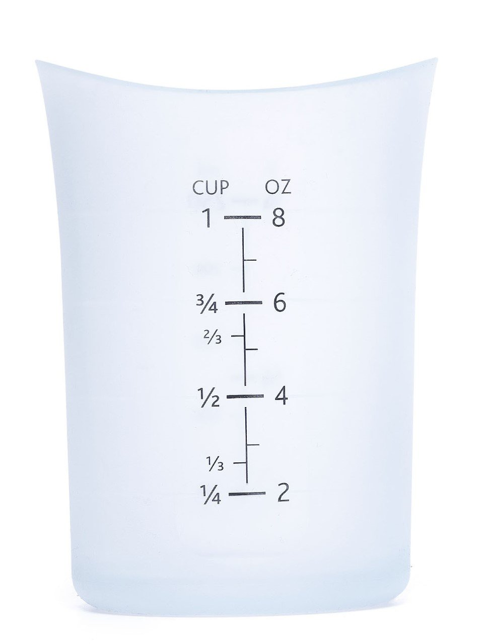 iSi 1 Cup Flexible Silicone Measuring Cup - Highly Ranked and Recommended by Cooks and Bakers
