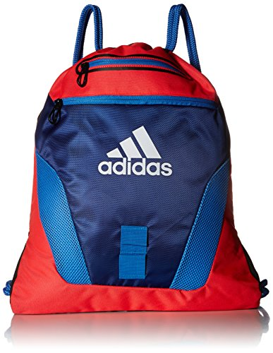 adidas Rumble Sackpack, One Size, Shock Red/Unity Ink/Ray Blue