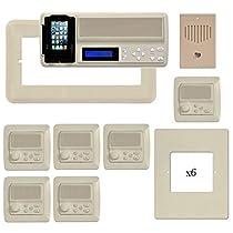 Nutone Intercom Replacement IMA4406 IntraSonic Master 5 Room-to-Room