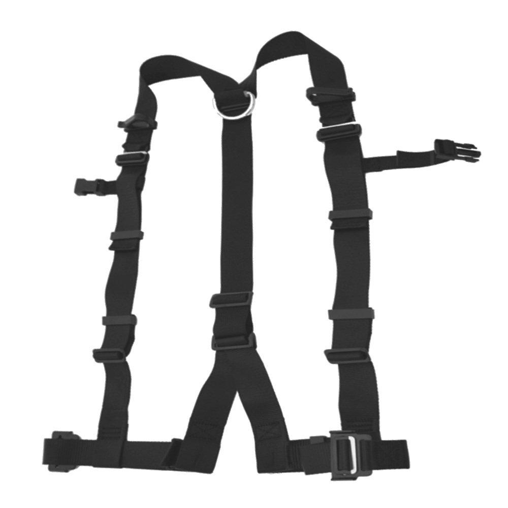 デンサン 柱上安全帯用ベルト ワンタッチタイプ DB-98DS-BK [落下防止 電気工事 高所での安全作業] B006WF8BS0