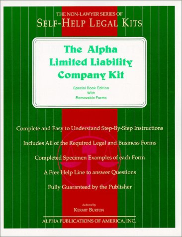 Alpha Limited Liability Company Kit Special Book Edition