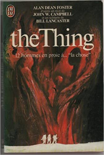 ALAN DEAN FOSTER THE THING EBOOK