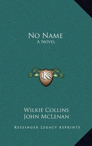 Read Online No Name: A Novel pdf epub