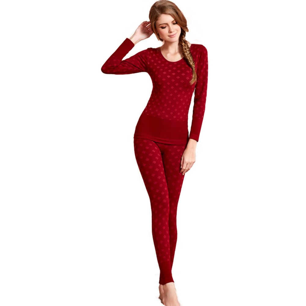 Lady t fall clothing long Johns/ fall clothing long Johns suit/ thin-based warm/ sexy lingerie-C One Size by Bottoms (Image #1)