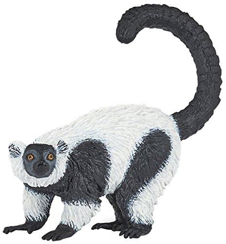 (Papo Ruffed Lemur Figure, Multicolor)