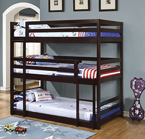 6 Furniture Styles You Really Need To Consider In 2018: Triple Decker Bunk Beds