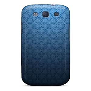 Zheng caseHot Abstract Blue Patterns Artwork First Grade Tpu Phone Case For Galaxy S3 Case Cover