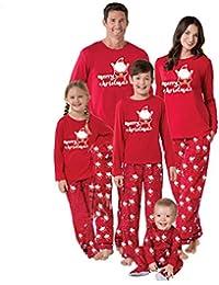 Christmas Santa Matching Family Pajamas