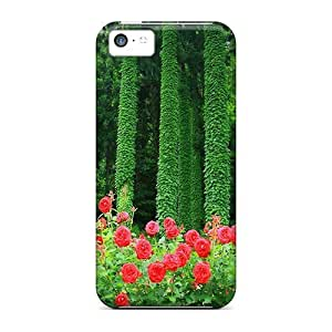 Awesome Forest Roses Flip Case With Fashion Design Case For Samsung Galaxy S5 Cover