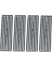 """Set of 4 Porcelain Cast Iron Cooking Grates BBQ Replacement Parts for Select Gas Grill Barbeque Models by Broil King, Grates Measure 19 3/16 Inches by 24 1/4"""""""