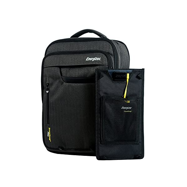 Energizer-PowerKeep-PRO-Solar-Executive-Backpack-Briefcase-Includes-Rugged-and-Flexible-Solar-Panel-10000mAh-Battery-powerbankLaptop-CompartmentBusinessTravel