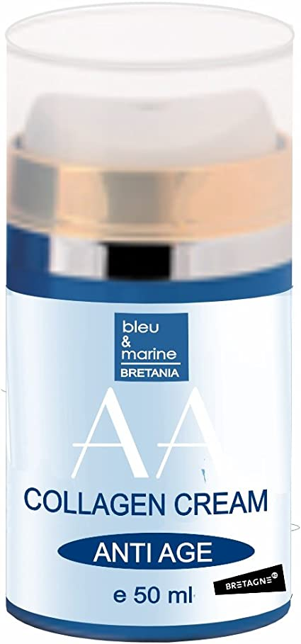 Crema Hidratante con Colageno, Ginseng y Vitamina E 50 ml - Unisex -Anti Edad - Neutraliza la formación de arrugas: Amazon.es: Belleza