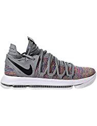 NIKE Mens Kevin Durant KD 10 Basketball Shoes Multicolor/Black-Cool Grey-White