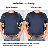 Feyachi Universal Shoulder Holster with Dual Mag