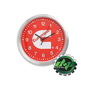 Diesel Power Plus Dodge Cummins Red Wall Clock Office Home Decor Shop Man cave red