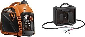 Generac 7117 Gp2200I W 50St Inverter, Orange & 7118 Parallel Kit for Inverter Generator, Cord