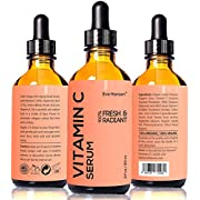 Amazon Lightning Deal 91% claimed: 2 oz Vitamin C Serum - Facelift in a Bottle #1 - 100% Vegan Anti Aging Facial Serum - SEE RESULTS OR - Big 2 ounce (Twice the Size) with the Same Premium Ingredients.