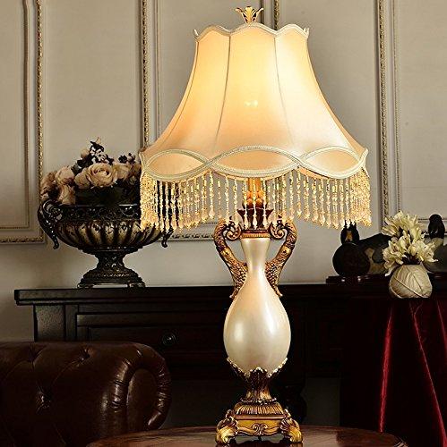 Helen Beleuchtung Wohnzimmer Beleuchtung Schlafzimmer Nachttisch Retro Wohnzimmer Tischlampe ( größe : Dimmschalter )