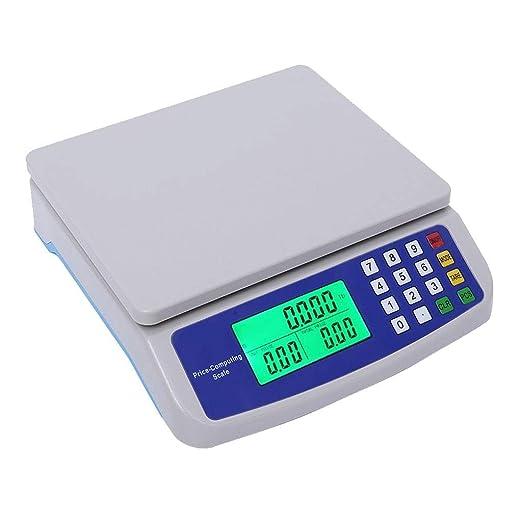 ZCXBHD 30 kg / 1 g Básculas Digitales Cocina Báscula ...