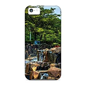 LJF phone case JiPnlQG5677HiDbj Case Cover, Fashionable iphone 5/5s Case - Waterworld Park In Japan Hdr