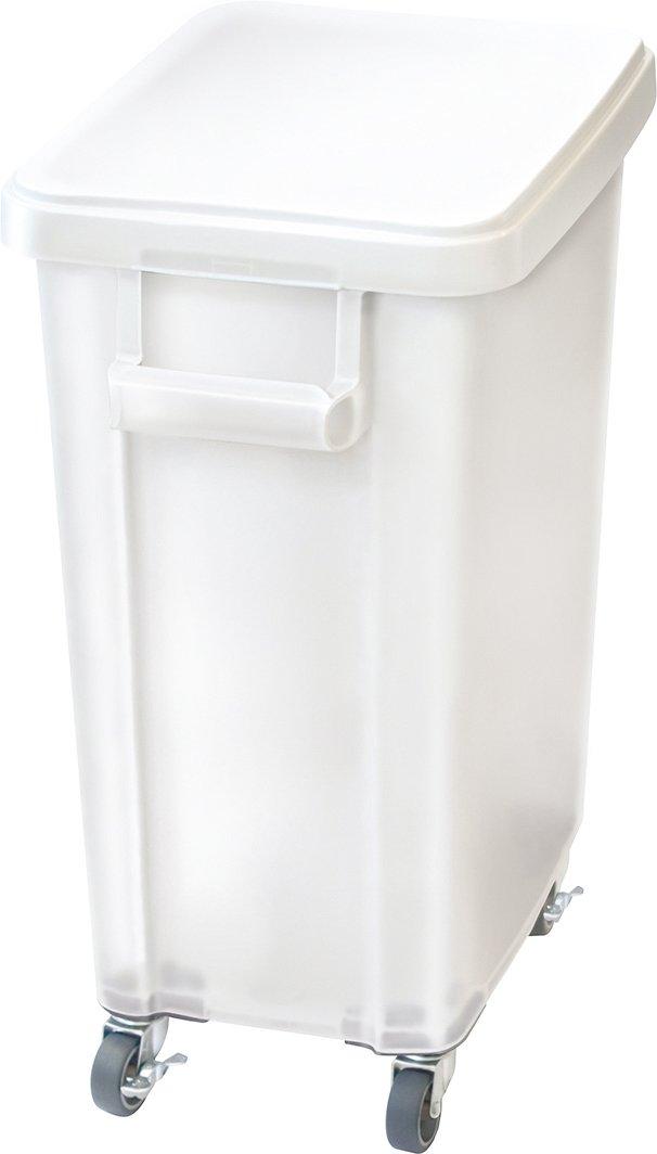 リス 業務用ゴミ箱 厨房用キャスターペール45L 排水栓付き ナチュラル B00VSYO6KM 45L|ナチュラル ナチュラル 45L