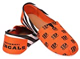 Womens NFL Canvas Slip-On Shoes, Cincinnati Bengals-medium