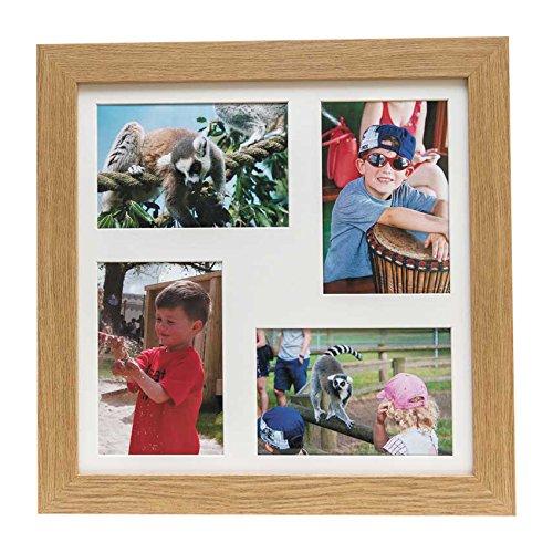 Frost 721 4 x 6-Inch Quad Photo Frame, Oak by (Oak Quad)
