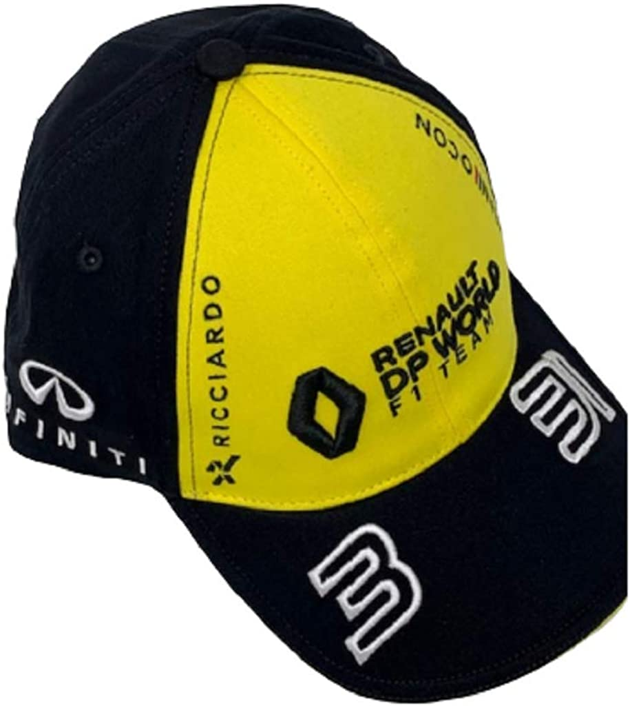 Casquette Noir N/°3 Daniel RICCIARDO//N/°31 Esteban Ocon Renault DP World F1 Team