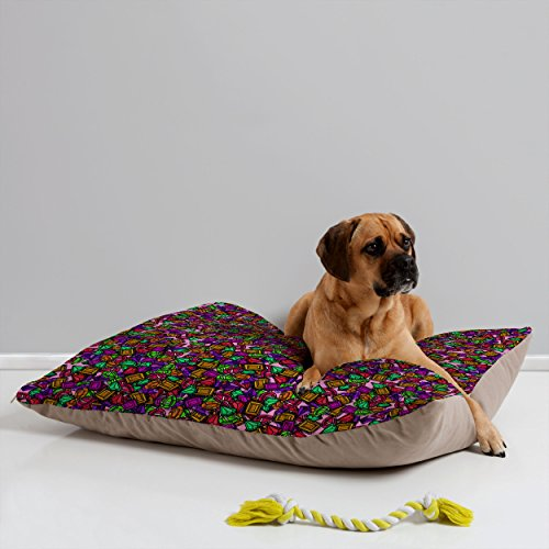 Deny Designs 13774-petbdm Aimee St Hill Bright Gems Pet Bed, 40 x 30