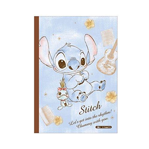 Disney Stitch B5 Craft Grid Notebook 096956 (LTD.) KAMIO JAPAN