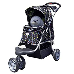 Amazon.com : Petzip 1st Class Luxury Pattern Jogger, Black : Pet