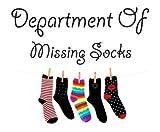 laundry room makeovers Department Of Missing Socks Wall Sticker Laundry Utility Room Odd Socks Novelty Gift Funny