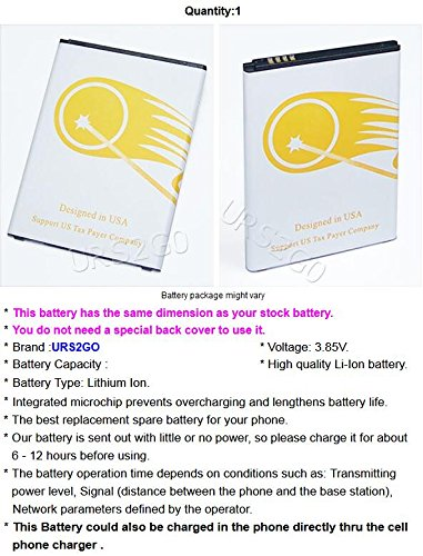 New High Power 3400mAh Replacement Extended Slim Battery for LG Stylo 2 4G LTE L81AL Straight Talk/Tracfone Android phone