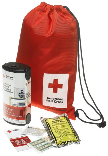 First Aid Only American Red Cross Personal Emergency Preparedness Kit W/backpack