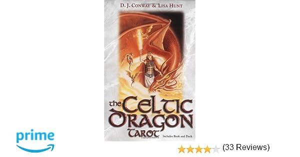 The Celtic Dragon Tarot Kit: D J  Conway, Lisa Hunt